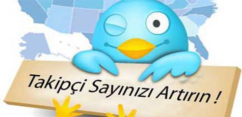 Twitter Takipçi Kasma Kodları